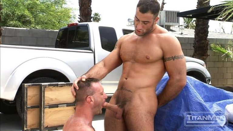 Big muscle dudes Spencer Reed huge dick fucks hairy hunk Tibor Wolfe hot hole 001 gay porn pics 768x432 - Big muscle dudes Spencer Reed's huge dick fucks hairy hunk Tibor Wolfe's hot hole