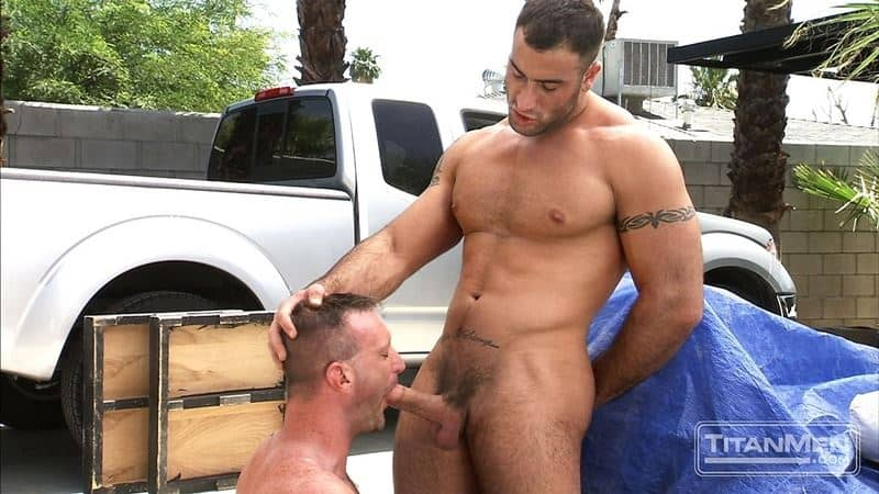 Big muscle dudes Spencer Reed huge dick fucks hairy hunk Tibor Wolfe hot hole 001 gay porn pics - Big muscle dudes Spencer Reed's huge dick fucks hairy hunk Tibor Wolfe's hot hole