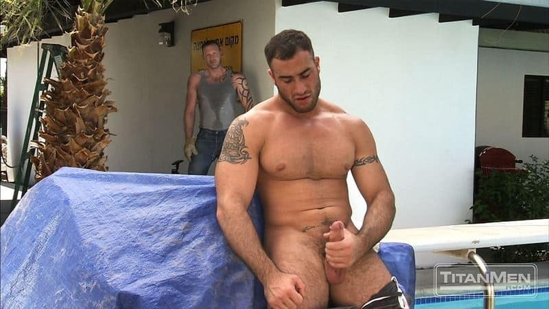 Big muscle dudes Spencer Reed huge dick fucks hairy hunk Tibor Wolfe hot hole 005 gay porn pics - Big muscle dudes Spencer Reed's huge dick fucks hairy hunk Tibor Wolfe's hot hole