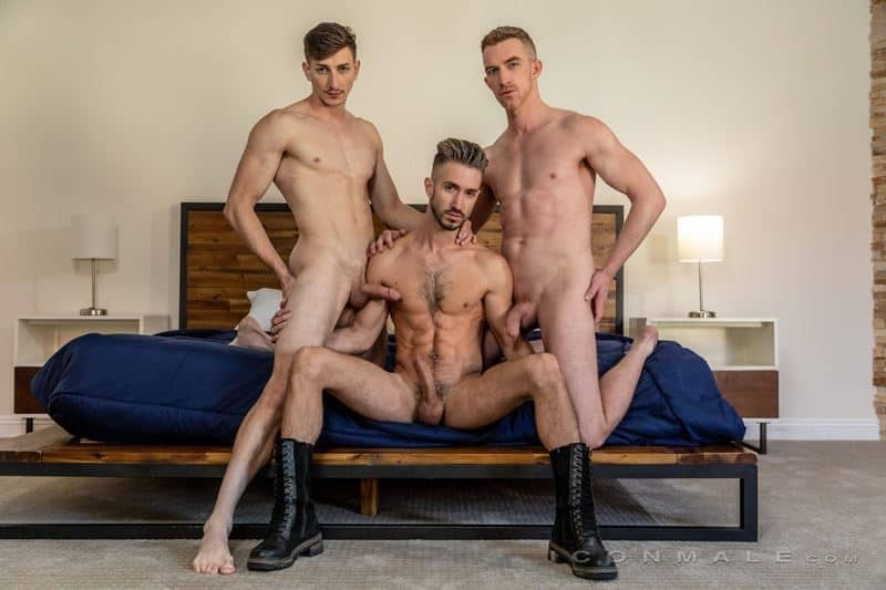 Hardcore muscle dude threesome Nick Fitt Michael Jackman Ian Frost big dick ass fucking orgy 006 gay porn pics - Hardcore muscle dude threesome Nick Fitt, Michael Jackman and Ian Frost big dick ass fucking orgy