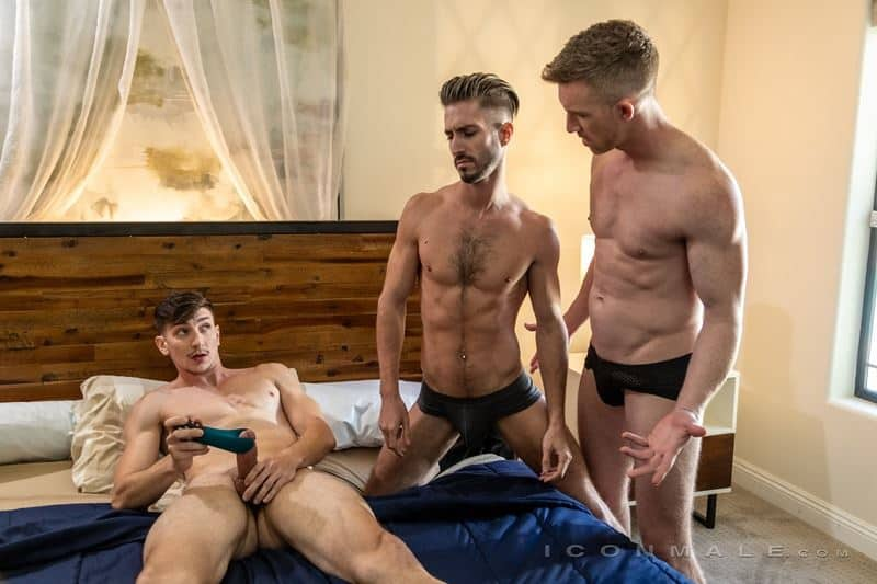 Hardcore muscle dude threesome Nick Fitt Michael Jackman Ian Frost big dick ass fucking orgy 009 gay porn pics - Hardcore muscle dude threesome Nick Fitt, Michael Jackman and Ian Frost big dick ass fucking orgy