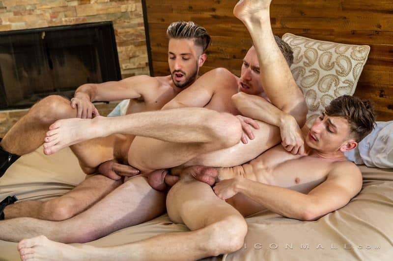 Hardcore muscle dude threesome Nick Fitt Michael Jackman Ian Frost big dick ass fucking orgy 022 gay porn pics - Hardcore muscle dude threesome Nick Fitt, Michael Jackman and Ian Frost big dick ass fucking orgy
