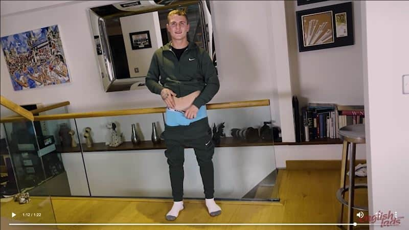 Ripped straight young British Ralph Collins strips track suit jerking huge uncut cock massive cum load 021 gay porn pics - Ripped straight young British Ralph Collins strips out of his track suit jerking his huge uncut cock to a massive cum load