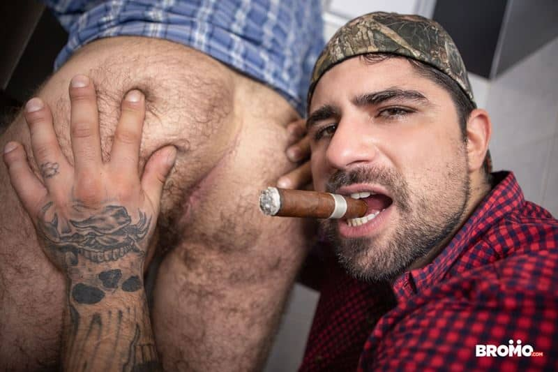 Trucker Ryan Bones huge thick dick bareback fucking beefy muscle hunk Markus Kage hot bubble ass 020 gay porn pics - Trucker Ryan Bones' huge thick dick bareback fucking beefy muscle hunk Markus Kage's hot bubble ass