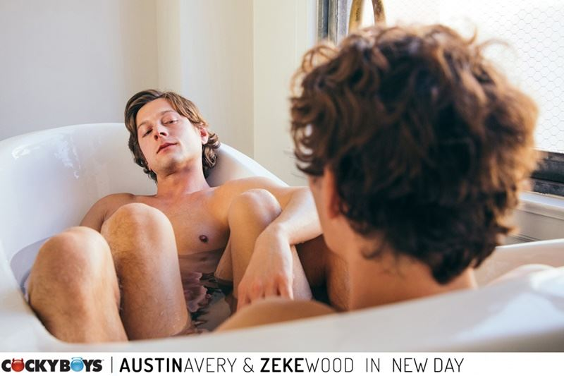 New young curly haired stud Zeke Wood tight raw asshole bare fucked Austin Avery huge thick dick 010 gay porn pics - New young curly haired stud Zeke Wood's tight raw asshole bare fucked by Austin Avery's huge thick dick