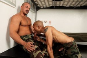 Big muscle stud Alex James huge cock raw fucking hot black dude Dex Wade tight bubble ass 001 gay porn pics 300x200 - Big muscle stud Alex James' huge cock raw fucking hot black dude Dex Wade's tight bubble ass