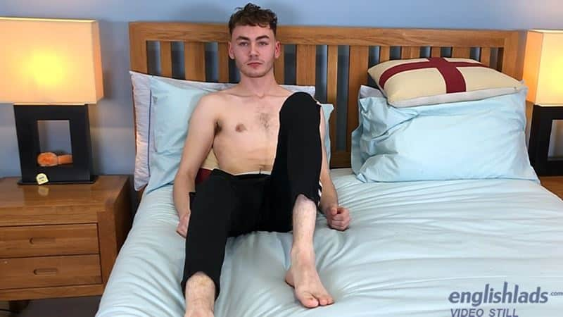 Hairy young straight dude Theo Walker strips naked sweatpants dirty white socks jerking huge uncut dick 005 gay porn pics - Hairy young straight dude Theo Walker strips out of his sweatpants and dirty white socks jerking his huge uncut dick