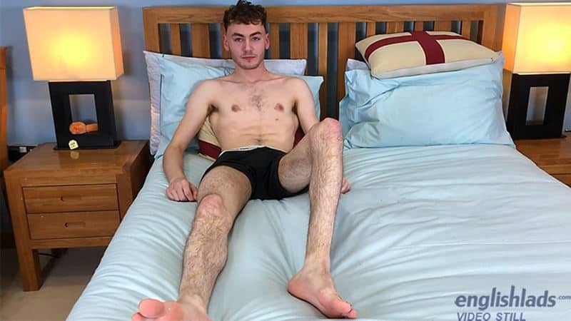Hairy young straight dude Theo Walker strips naked sweatpants dirty white socks jerking huge uncut dick 006 gay porn pics - Hairy young straight dude Theo Walker strips out of his sweatpants and dirty white socks jerking his huge uncut dick