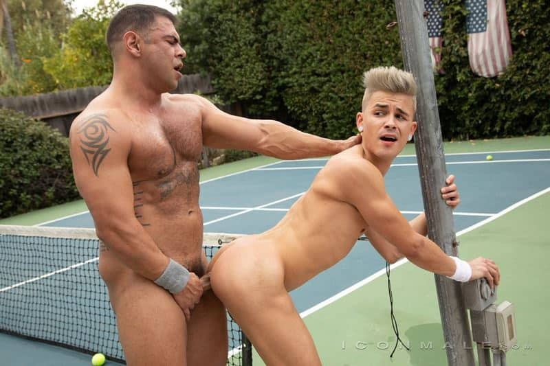 Hot black muscle stud Draven Navarro huge thick dick bareback fucking Andy Taylor tight smooth asshole 027 gay porn pics - Hot black muscle stud Draven Navarro's huge thick dick bareback fucking Andy Taylor's tight smooth asshole