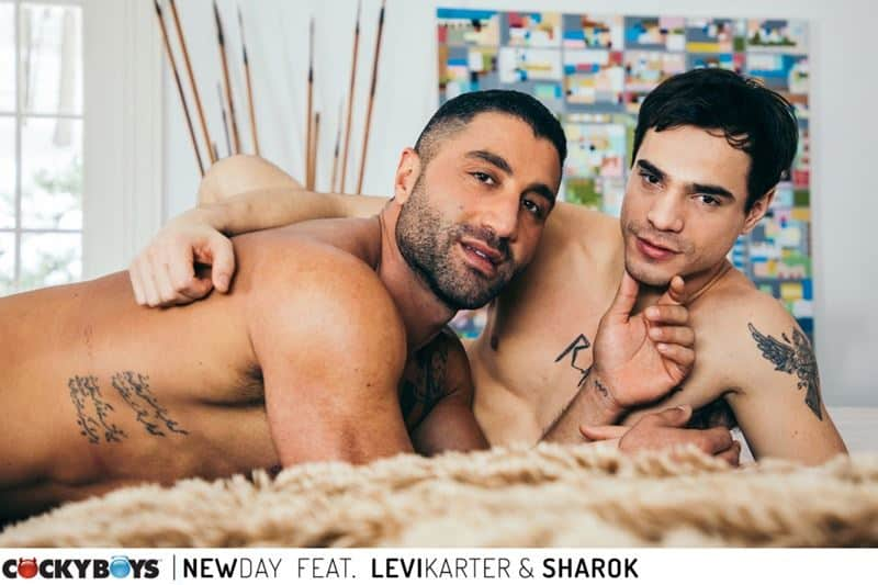Ripped young dude Levi Karter hot hole dominated muscle stud Sharok huge thick dick 017 gay porn pics - Ripped young dude Levi Karter's hot hole dominated by muscle stud Sharok's huge thick dick
