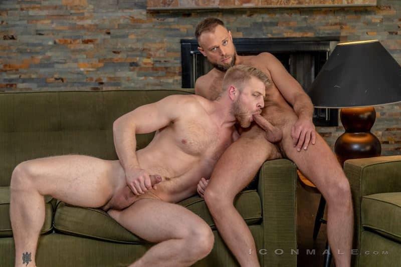 Hardcore anal threesome Skyy Knox, Zayne Roman and Logan Stevens big dick ass fucking