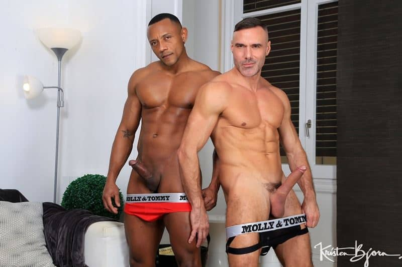 Horny muscle hunk Manuel Skyes huge thick raw dick bareback fucking hottie stud Santi Sexy tight bubble ass 009 gay porn pics - Horny muscle hunk Manuel Skye's huge thick raw dick bareback fucking hottie stud Santi Sexy's tight bubble ass