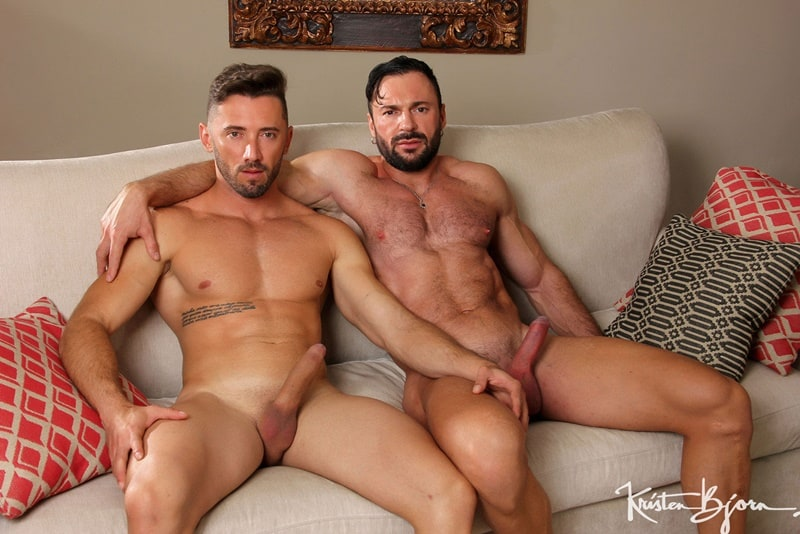 Kristen Bjorn big muscle bottom stud Cole Keller bubble ass raw fucked sexy hunk Marcos Oliveira huge uncut dick 001 gay porn pics - Kristen Bjorn big muscle bottom stud Cole Keller's bubble ass raw fucked by sexy hunk Marcos Oliveira's huge uncut dick